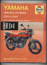 Yamaha YBR125 XT125R XT125X (05-09) Haynes Manual De Servicio Libro Ybr Xt 125 X CP85