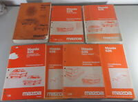 Workshop Manual + Additions (7 Volumes) Mazda 626 Type GD/GV , Stand 1987-1988
