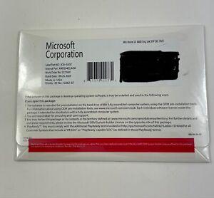 Microsoft Windows Home 10 64bit Eng 1pk DSP OEI DVD Sealed Free Shipping!!