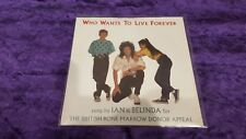 """RECORD VINYL, 7""""  QUEEN, WHO WANTS TO LIVE FOREVER."""
