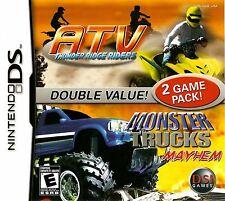 ATV Thunder Ridge Riders/Monster Trucks Mayhem DS