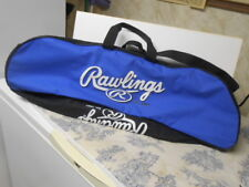 Rawlings Baseball / Softball Blue, Black & White Bat Bag