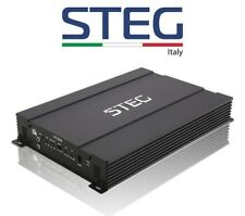 STEG ST202 AMPLIFICATORE 195W RMS x 2 CANALI 390W RMS MONO > MADE IN ITALY