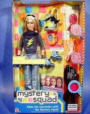 New MYSTERY SQUAD Barbie 2002 TEEN SPY & EQUIPMENT Night Mission Specialist NRFB