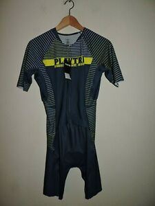 PlayTri Men Triathlon Performance Race Suit Cycling Bike Clothing XL