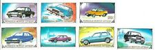 A Complete Mnh Set Of 7 Automobiles From Mongolia
