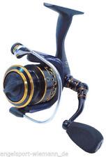 Moulinets de pêche jaune à tambour fixe