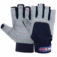 Men Women Sailing Gloves 3/4 Finger Grip Kayaking Surfing Fishing Deckhand Glove