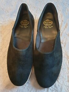 Church Slippers In Size 11 black suede