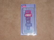 NEW, BUT FIRST LET ME TAKE A SELFIE IPHONE 5C CASE, FROM CLAIRE'S