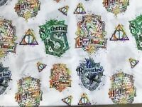 FQ HARRY POTTER HOGWARTS HOUSE GRYFFINDOR  POLYCOTTON FABRIC CHARACTER WIZARD