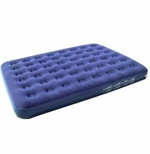 Yellowstone Flocked Double Air Bed Caravan and Camping Blow up Beds Mattress