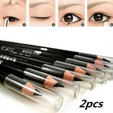 2pcs bellezza estetica liscia impermeabile EyeLiner penna trucco Eyeliner matita