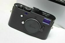 Leica M-P Body Type 240 Black SUPERB BOXED under than 700 clicks