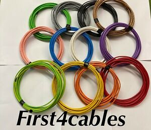 Auto Marine Camper Wiring Loom Cable 1.5mm Bundle 21 Amp 12 Colours 5 Mtrs 16awg