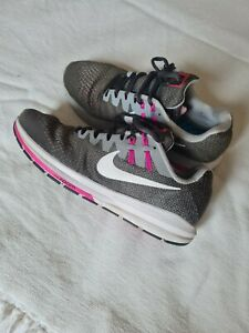 Nike Trainers Grey Pink Size UK 8.5
