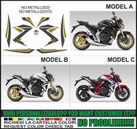 kit adesivi stickers compatibili cb 1000 r 2014 extreme