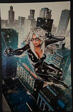 Black Cat Signed Greg Horn Print
