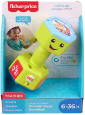 Fisher Price Laugh & Learn Countin' Reps Dumbbell