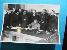 Russia Polonia - STALIN , Molotov Anders Sikorski 1941 - Fotografia Photo