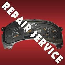 2003 GM H2 Hummer Speedometer Instrument Gauge Cluster IPC Repair Service