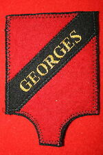 FRENCH ALGERIAN ALGERIE COMMANDO GEORGES CLOTH POCKET PATCH BADGE