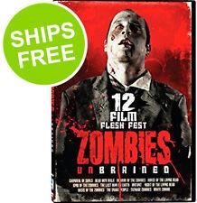 Zombies Unbrained 12 Film Flesh Fest (DVD, 2013, 3-Discs) Sealed, NEW, Romero