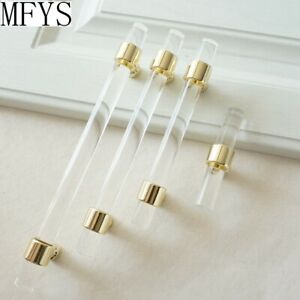 Lucite Cabinet pulls Acrylic Handle Drawer Clear Dresser Kitchen Cabinet Pulls
