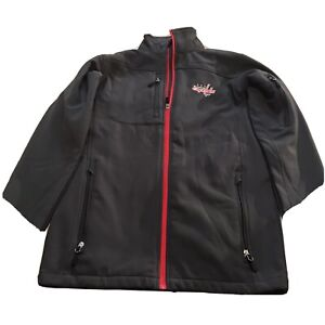 Washington Capitals Official Licensed NHL Embroidered Full Zip  Jacket Size S
