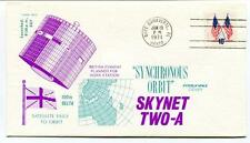 1974 Skynet Two-A Synchronous Orbut Delta Satellite Fails Orbit Cape Canaveral