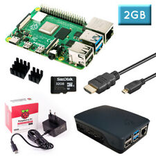 Raspberry Pi 4 (2GB RAM) Bundle 32GB, schwarz
