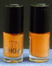 Maybelline Color Show Nail Lacquer (Lot of 2)  # 115 Pretty In Peach