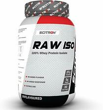 Scitron Raw ISO 100% Whey Protein ISOLATE 900g with free shipping