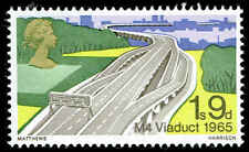 Scott # 563 - 1968 - ' M4 Viaduct, 1965 ' Phosphor Lined Paper