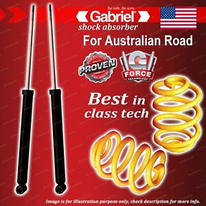 Rear Gabriel Ultra Shocks + Lowered King Coil Springs for BMW 3 Series E36 318i