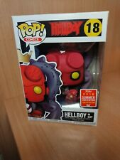 Funko pop Hellboy in suit 18 sdcc 2018