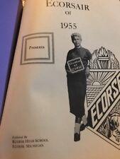 Ecorse High School Yearbook 1955 Michigan