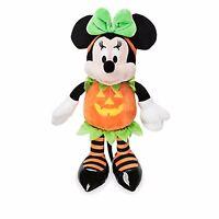 Minnie Mouse Plush - Halloween Pumpkin Plush - Minnie Toy - BNWT Authentic 38cm