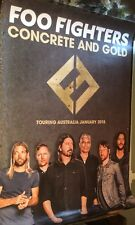 Foo Fighters Concrete And Gold Album Release Poster