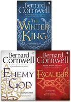 Bernard Cornwell Warlord Chronicles 3 Books Set