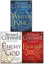 Bernard Cornwell Warlord Chronicles Collection 3 Books Set Excalibur Winter King