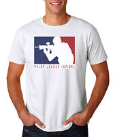 Major League Infidel T-Shirt White S-3XL, Marines Army Navy Special Ops Military
