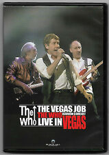 DVD / THE WHO THE VEGAS JOB LIVE IN VEGAS (MUSIQUE CONCERT)
