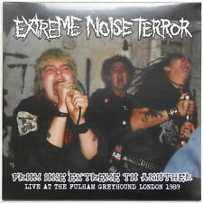 Extreme Noise Terror ‎-From One Extreme To Another LP Live London 1989 Grindcore