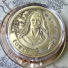 Eowyn Lord Of The Rings Limited Edition 38mm Collectors Coin In Capsule