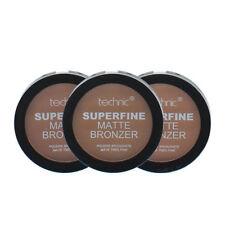 Technic Superfine Matte Powder Bronzer Compact 12g medium, light ,dark