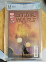 Star Wars #4 (CBCS 9.6) Marvel 2015, 1st Print, Boba Fett Cameo, Jabba The Hut