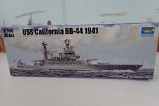 Trumpeter No.05783 1/700 Scale Uss California Bb-44 1941 War Ship Model Kit
