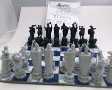 Vintage Harry Potter Wizard Chess Set 2002 Mattel Game
