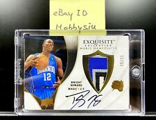 2007-08 Upper Deck UD Exquisite Collection Dwight Howard Auto Patch 09/25 #NPDH